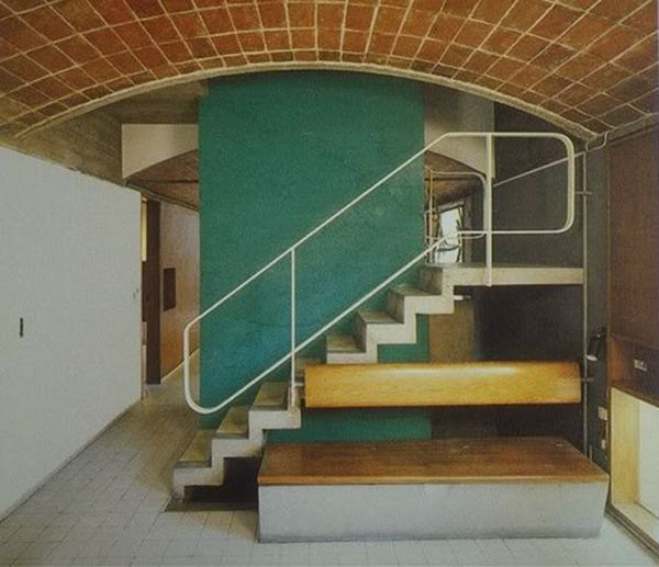Le corbusier - le maisons jaoul 1954 via the cosmic inspiro-cloud