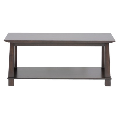$207 Target Dark Brown Havana Modern Coffee Table   Medium.Opens In A New  Window