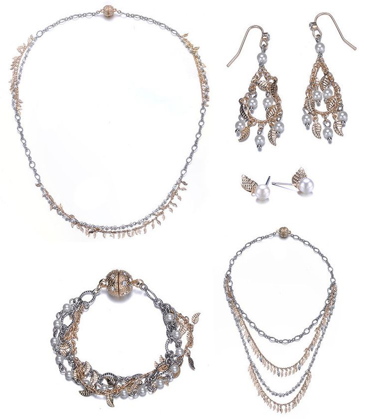 Cosmic Love: 5 Piece Jewelry Set By Amrita Sen & Jewels To Jet