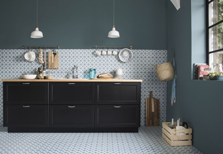 Ikea Hoogglans Zwart Keuken 555 Best Keukens Images On Pinterest
