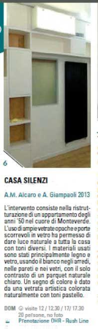 Casa Silenzi di A G Project - Open House 2014