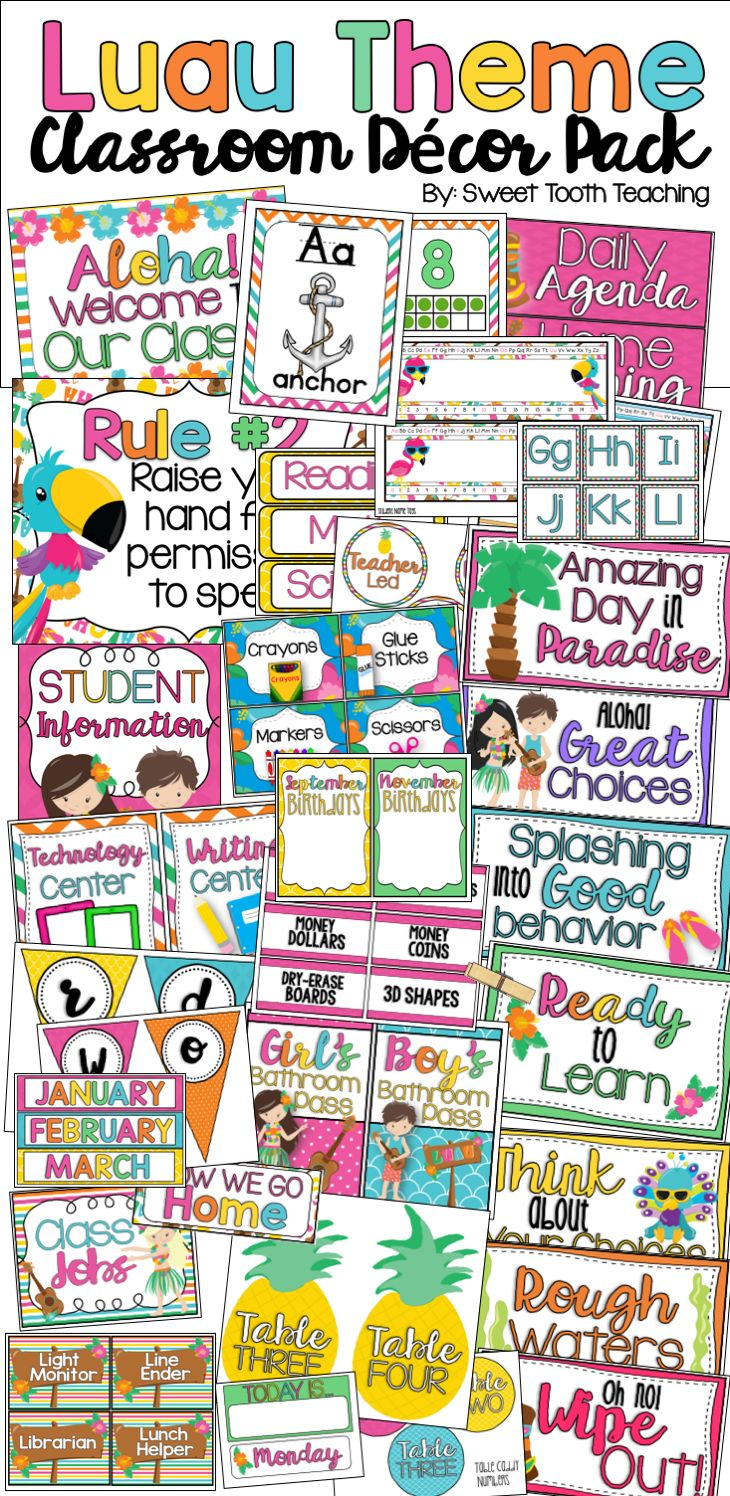 Classroom Decor Resources ~ Best early childhood classroom decor themes images