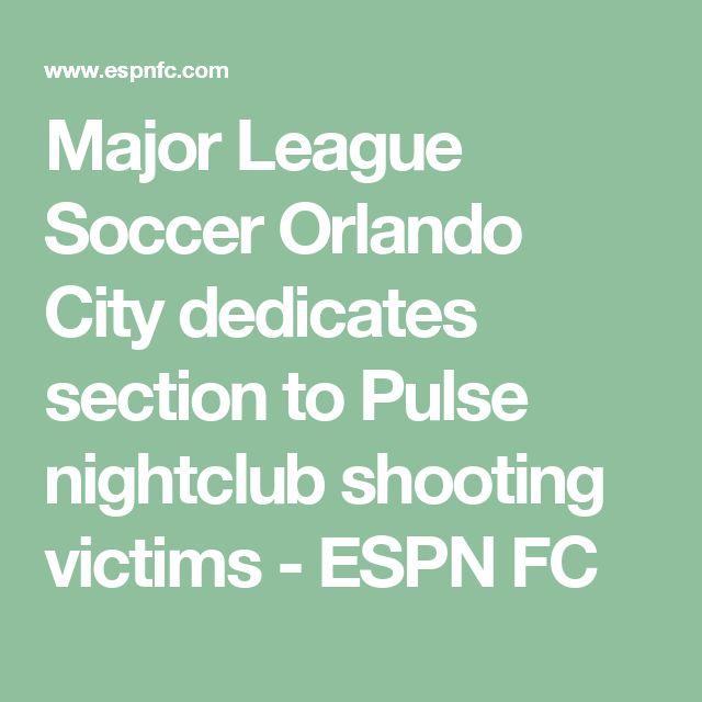 Major League Soccer Orlando City dedicates section to Pulse nightclub shooting victims - ESPN FC