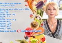 Videorecepte: ēd un tievē. Tunča salāti, šampinjonu krēmzupa un biezpiena sacepums   SKATIES