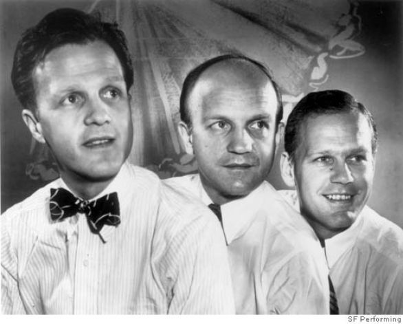 The Christensen Brothers (circa1950s) L-R: Harold, Willam and Lew Photo by Cristof Studio Photo Courtesy of SF Performing Arts Library and M...