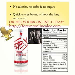 Low calories Energy Drink