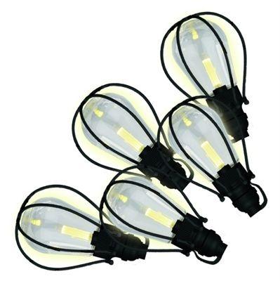 20-ft 20-Light White Clear Plastic-Shade Led Plug-in Bulbs String Lights