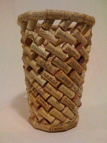 Make a Cork Basket