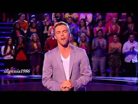 Derek Hough on Family Dance Off Derek age 6 at 8:50