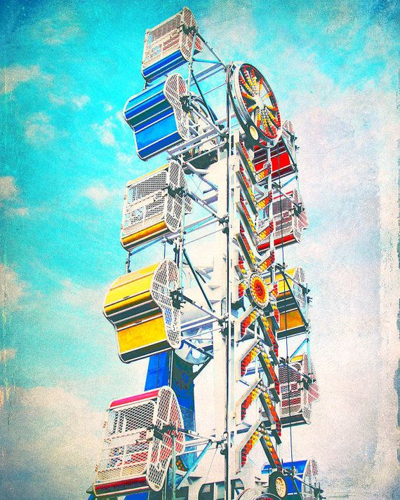 the zipper! (Omg I remember riding this when I was a kid. I cried so much, but now I wish I could ride this again. )