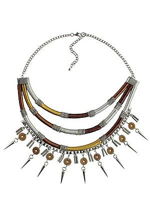 Toni Klimm Multi-Row Thread Necklace #kaleidoscope #jewellery