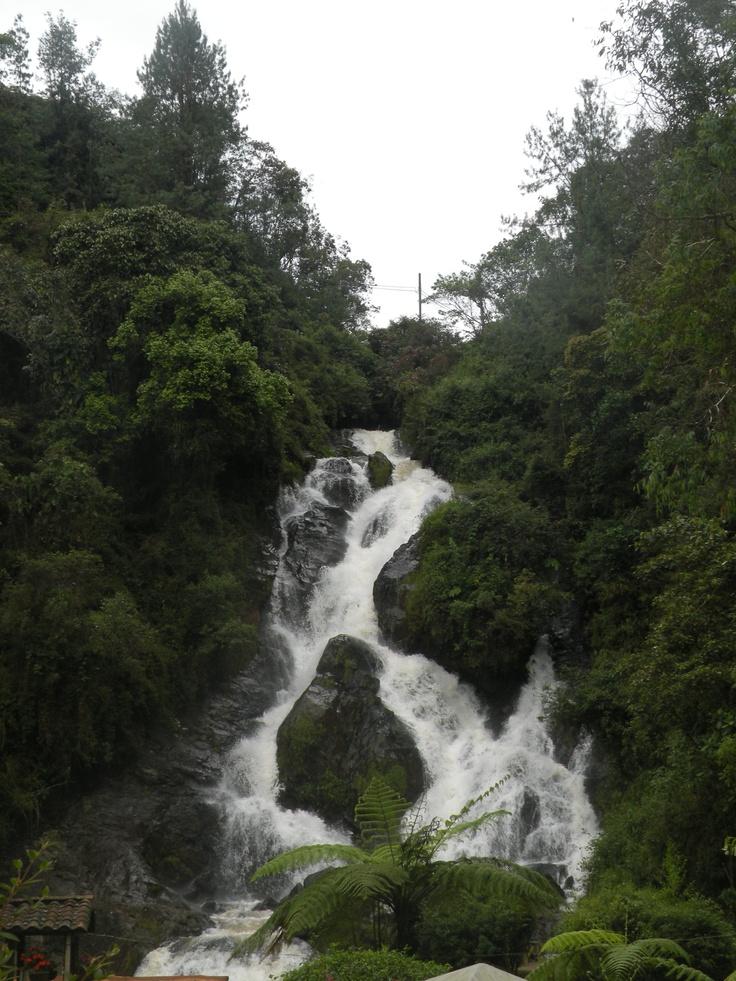 Outside Medellin, Colombia
