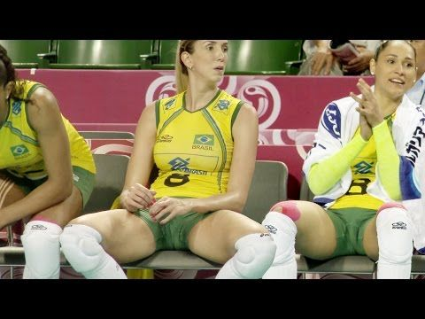Thaisa Menezes, Jaqueline, gorgeous Brazilian volleyball players - YouTube