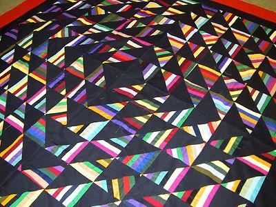 Amish Styled Roman Stripe, Sparkling Diamonds
