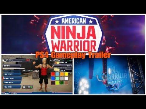 American Ninja Warrior PS4 Gameplay Trailer Upcoming PS4 Games 2019