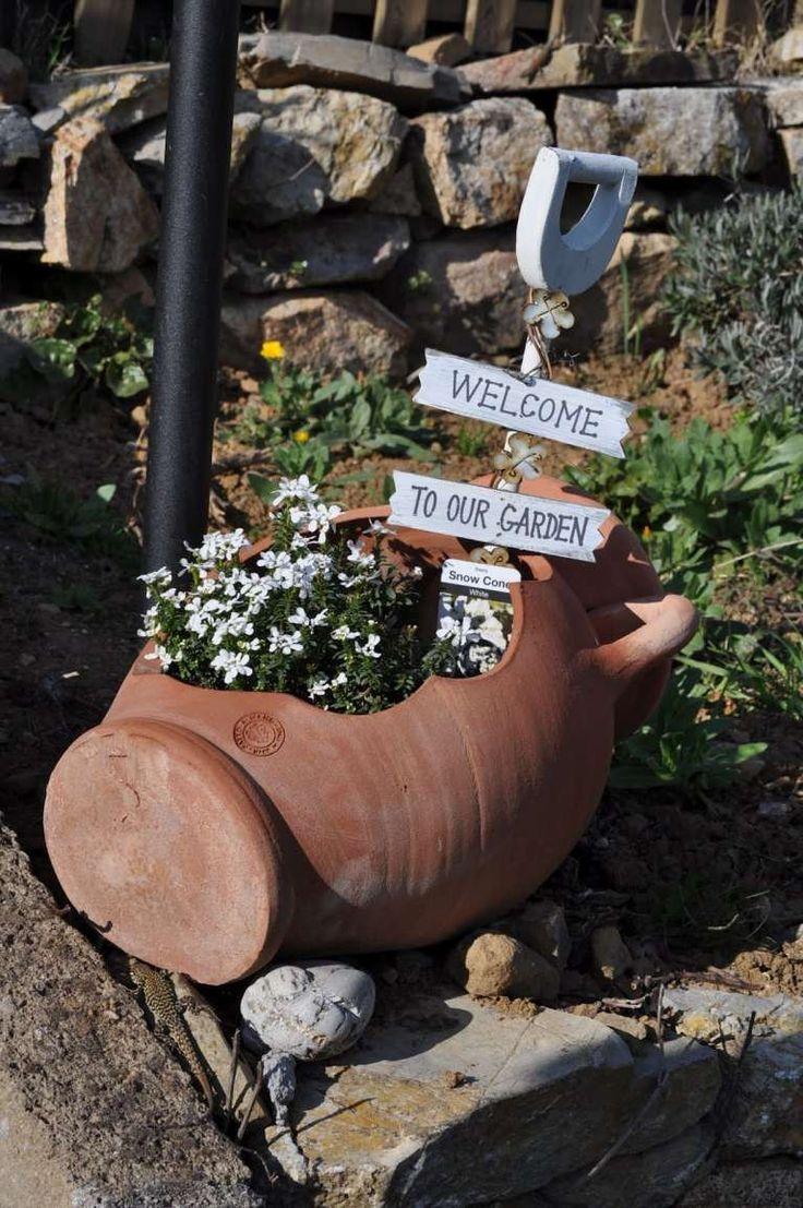 Idee fai da te per arredare il giardino con oggetti riciclati (Foto 40/40) | Donna