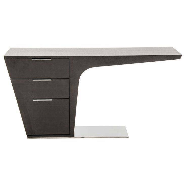 A Space Saving And Striking Modern Desk That Will Keep You Productive With  Style.