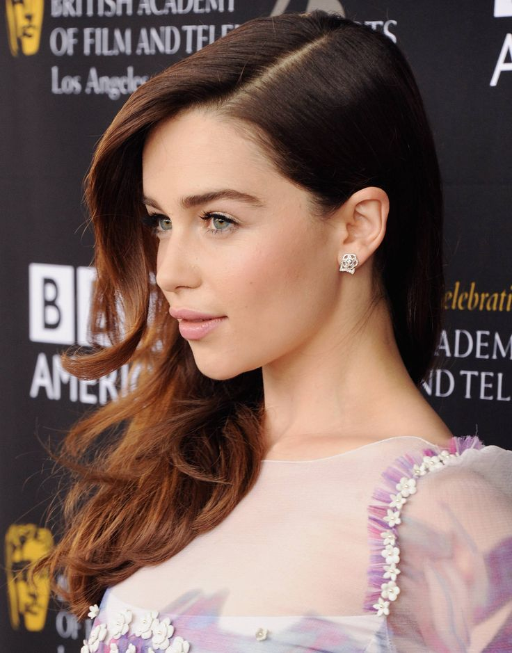 Emilia Clarke - Game of Thrones. I have a serious crush on her!!