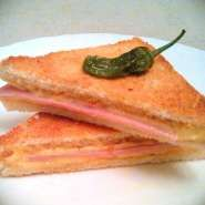 Sandwich mixto de Jamón York y Queso