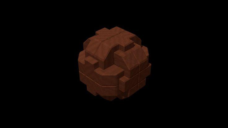 Gumball 3K Burr Puzzle
