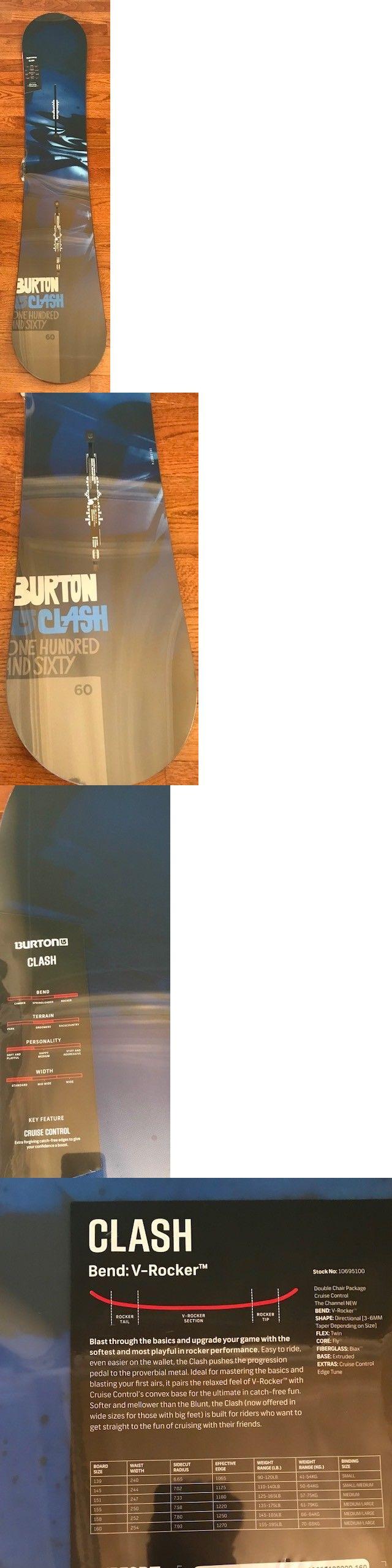 Snowboards 93825: 2014-15 Mens Burton Clash -> BUY IT NOW ONLY: $249 on eBay!