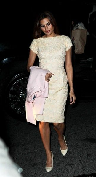 Eva Mendes - Eva Mendes Out Late in NYC