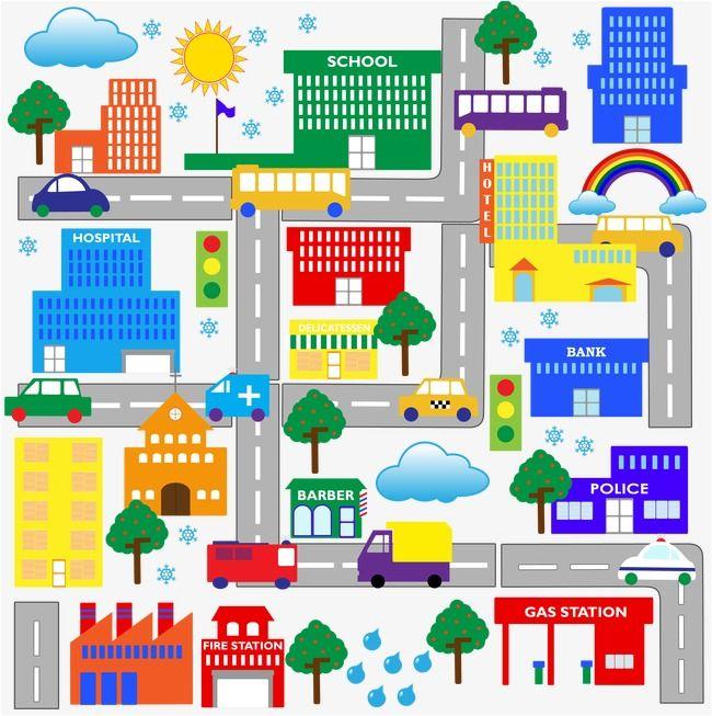 كرتون عصفور المدينة نلقي نظرة على الشكل city cartoon vector free map كرتون عصفور المدينة نلقي نظرة على