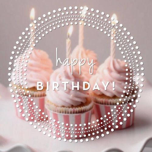 Happy Birthday! #happybirthday cupcakes candles