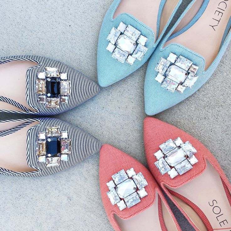 Dressy yet casual smoking slippers finished with sparkling crystals at the front toe
