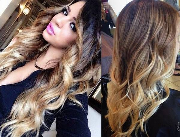 How To Do Ombre Hair At Home For Dark Hair // #Dark #Hair