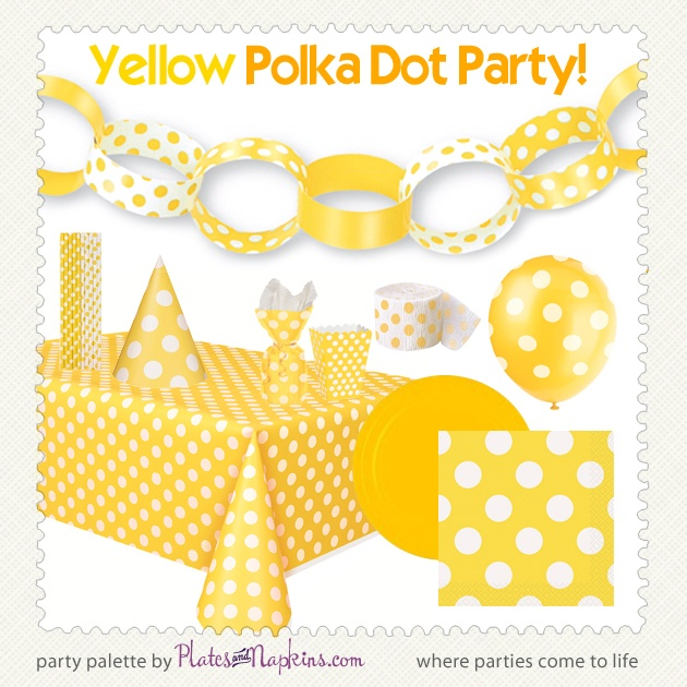 41 best images about polka dot party supplies on pinterest for Polka dot party ideas
