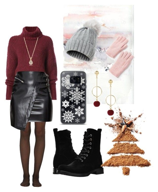 """""""Winter time"""" by wildorchidx on Polyvore featuring BY. Bonnie Young, Wolford, Frye, Samsung, David Yurman and Urban Outfitters"""