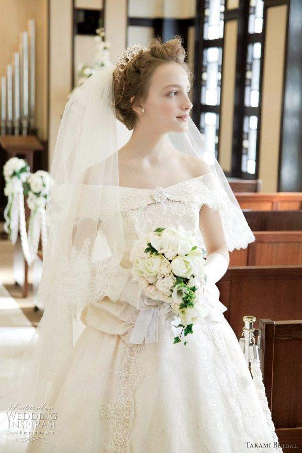 takami bridal royal wedding dress 2012.  Seriously stunning!