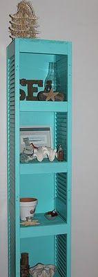Shelves from shutters