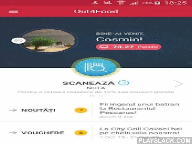 City Grill  Android App - playslack.com ,  Cu Out4Food, simți că ești clientul preferat al oricărui restaurant din Grupul City Grill. Comanzi fără să aștepți chelnerul, primești puncte de fidelitate la fiecare vizită, te bucuri de oferte exclusive sau cadouri-surpriză. Iată ce poți face în aplicație:*Comanzi de pe mobil - când ești pe drum, la birou, acasă sau în restaurant. Ceri nota tot de pe mobil, și câștigi timp, eviți erorile, ai conversații inedite cu chelnerul.*Ai reduceri. Acumulezi…
