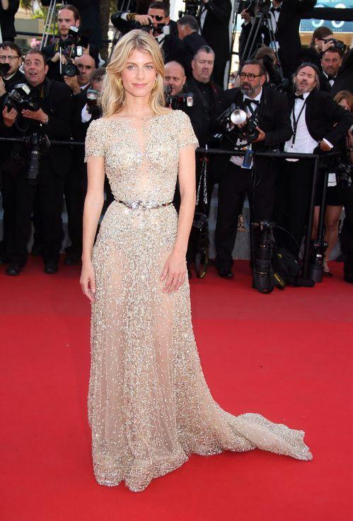 Mélanie Laurent en robe Zuhair Murad haute couture printemps-été 2015