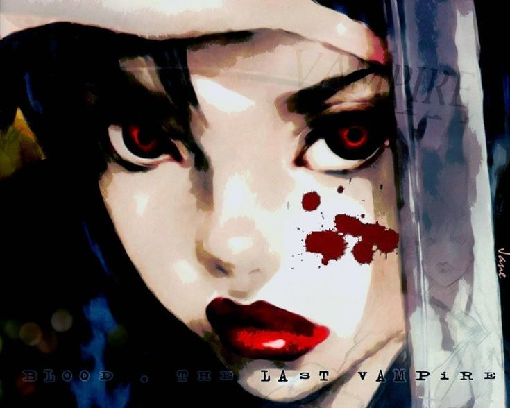 Blood : The Last Vampire Saya par jane - Hebus.com