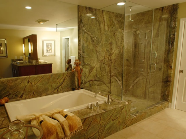 Rain Forest Granite Shower Lake House Ideas Pinterest Forests Showers And Granite