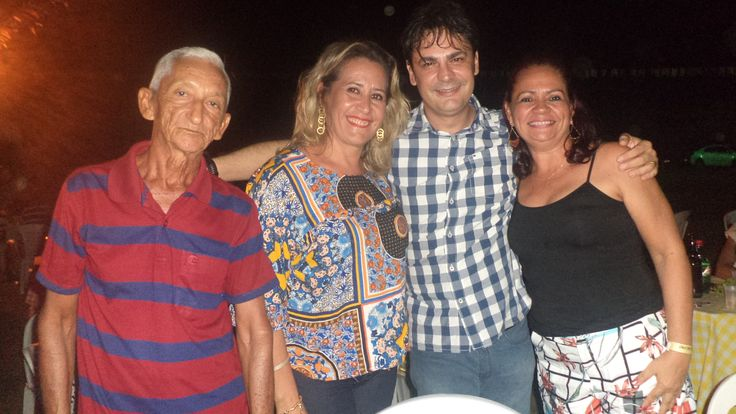 Prefeito de José de Freitas e 11 vereadores prestigiam II Arraial da Vila Regino