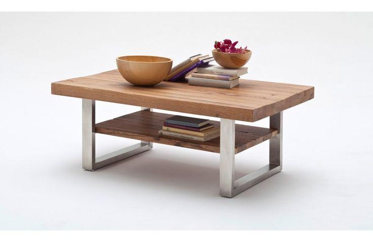 Table de salon en chêne - Meuble de salon en chêne - Meuble et Canape.com