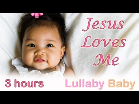 ☆ 3 HOURS ☆ JESUS LOVES ME ♫ Instrumental MUSIC BOX ☆ Baby Bedtime Sleeping Music ♫ Music for Babies - YouTube