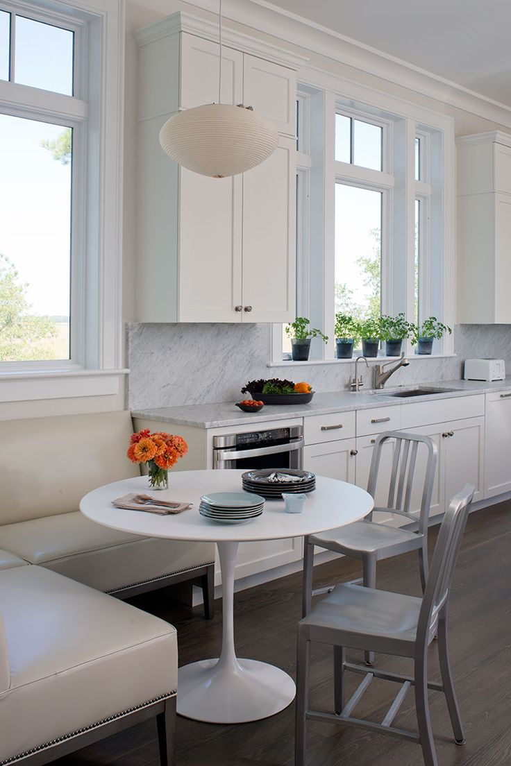 Superb Kitchen Seating Area   Easy To Clean Seats U0026 Easy To Pull Table Out