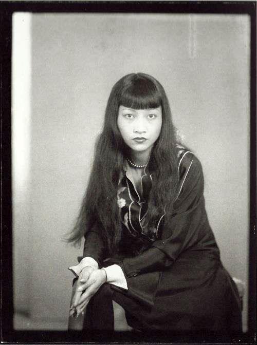 Anna May Wong, photo by Man Ray