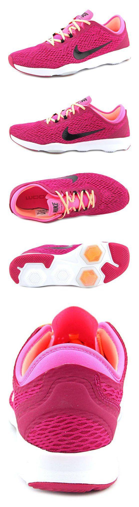 $90 - New Nike Women's Zoom Fit Cross Trainer Sport Fuschia/Black 6 #shoes #nike #2015