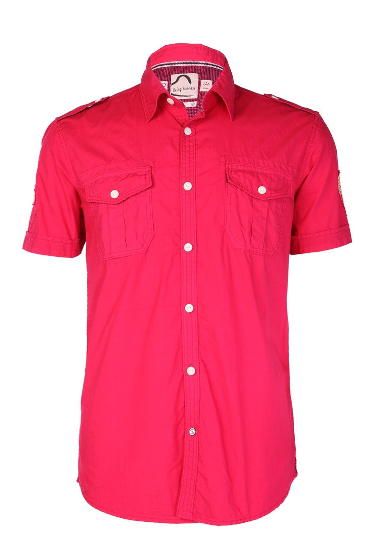 Dark Pink Colour Shirt