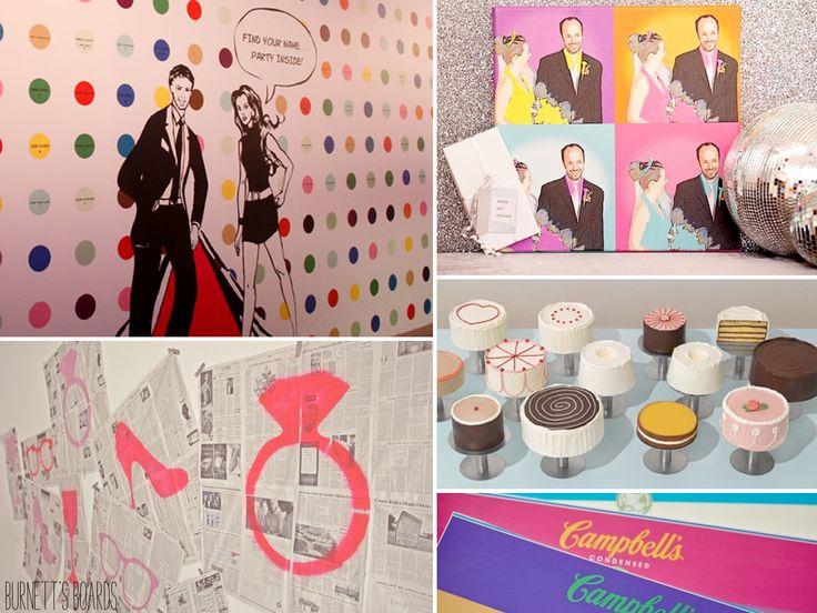 31 best Pop Art Wedding Ideas images on Pinterest Marriage Pop