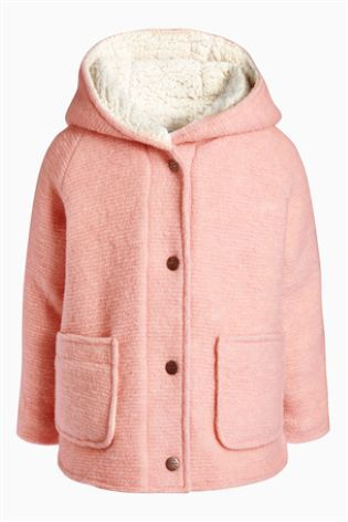 Buy Pink Borg Lined Jacket (3mths-6yrs) online today at Next: Australia