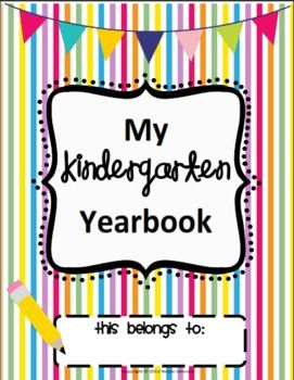 Every year I loved creating a cute keepsake book for my kindergartners to take home at the end of the year. This yearbook was inspired by my own ki...