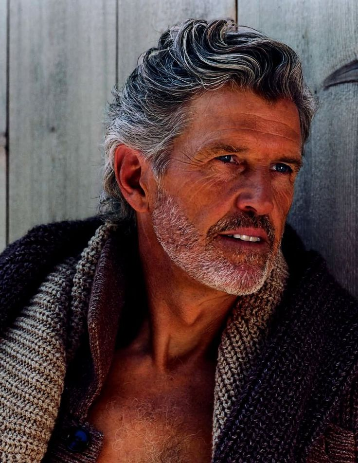 OUT WITH THE NEW, IN WITH THE OLD: best male models over 40 ‹ Bruce Hulse