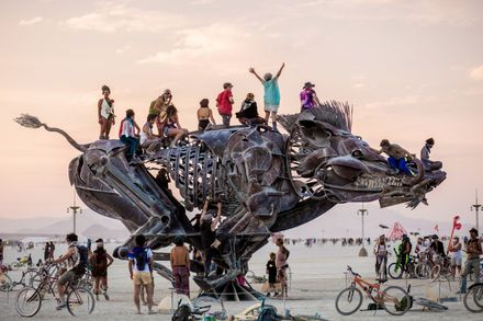 Missed Burning Man? Burning Man or at Least Its Ar…